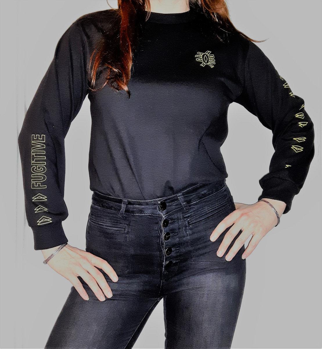 Shirt design on sleeve - Fugitive Design Long Sleeve T Shirt Main Photo