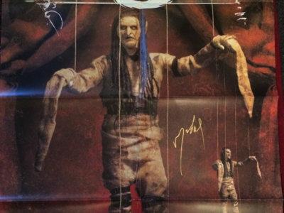 Puppet Megaposter. A1 size. Original 2004 print. main photo
