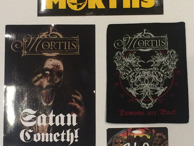 Patch, VIP laminate & stickers pack + The Great Deceiver download main photo