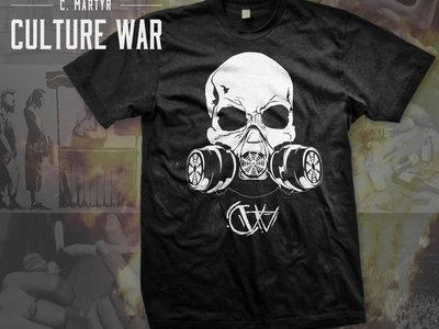 Culture War Gas Mask Tee main photo
