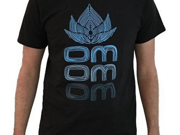 Om Blue Lotus Shirt main photo