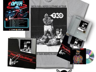 "Mega Ran x Nerds ""TKO"" Tee, Poster + CD Bundle main photo"