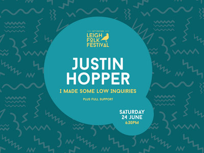 Justin Hopper - I Made Some Low Inquiries Concert Tickets main photo