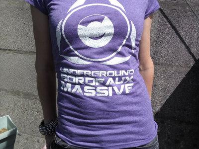 UBM Logo - Purple Female T-Shirt main photo