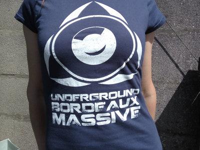 UBM Logo - Blue Female T-Shirt main photo