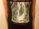 Fire of Iniquity T-shirt photo