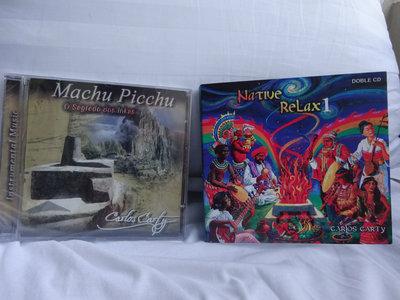 NATIVE RELAX 1 (Double CD) + Machu Picchu o Segredo dos Incas CD main photo