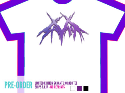 Savant Logo Tee (Purple) main photo