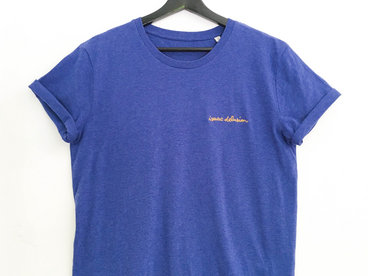 Isaac Delusion T-Shirt Homme Bleu/Gris main photo