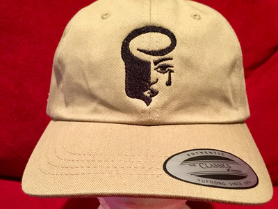 "Tan ""Dad"" Hat with Black Logo main photo"