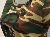 Women's Camouflage Tee with Black Foil Logo photo