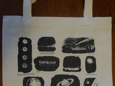 Star Creature Galaxy Tote Bag main photo