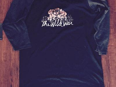"""""""The Wild War"""" - Flower Baseball Shirt main photo"""