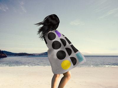 "The NQ Luxury Beach Towel ""Connect 4"" main photo"