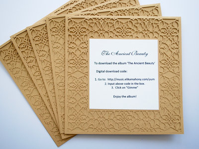 Set of 5 - Digital download paper cut cards (FREE shipping) main photo