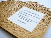 Set of 5 - Digital download paper cut cards (FREE shipping) photo