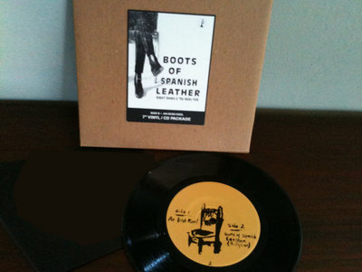 """Boots of Spanish Leather 7"""" Vinyl & Download main photo"""