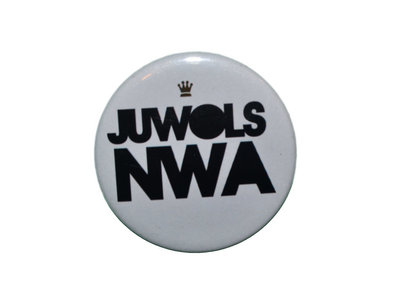 "Juwols NWA® OG Logo Button | Large 2 1/4"" main photo"