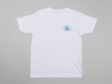 Numbers Fingerprints S/S T-Shirt (White/Blue) main photo