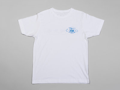 Numbers Fingerprints S/S T-Shirt (White/Blue) main photo