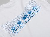 Numbers Fingerprints L/S T-Shirt (White/Blue) photo
