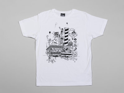 Numbers Boat Party T-Shirt (White/Black) main photo