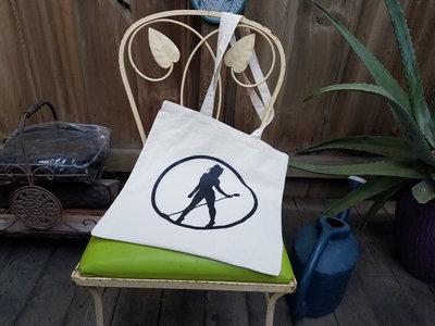 Natural Canvas Tote Bag with Logo main photo