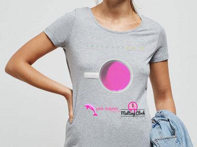 'Abstract 2016' Grey Ladies T-shirt main photo