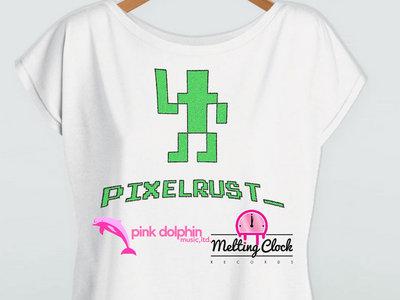 PixelRust logo Ladies T-shirt main photo