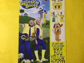 Four Colourful Signed Splash'N Boots 11X17 Poster Pack photo