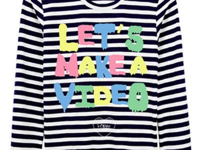 Let's Make A Video - T - Shirt main photo