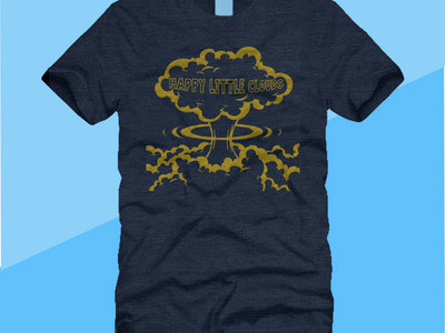 Happy Little Clouds Atomic T-shirt main photo