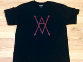 Red Glitter T (only 2 left) photo