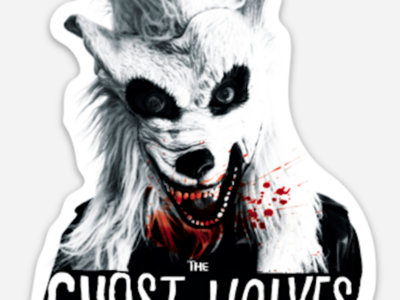Bloody Ghost Wolves Sticker main photo