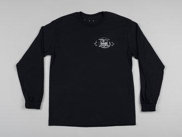 Numbers Fingerprints L/S Shirt (Black/Silver) main photo