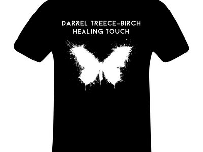 Unisex DTB White Butterfly T main photo