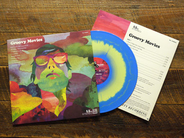 """12"""" LP, Cyan and Easter Yellow SWIRL VINYL, Limited Ed. 200 copies main photo"""