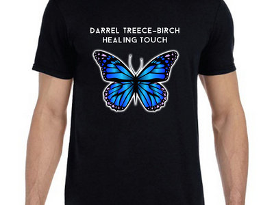 Unisex Blue DTB Butterfly T main photo