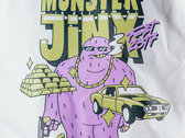 Monster Jinx Fest 07 Gold Tee (w/ Free MJ Rolling Papers) photo
