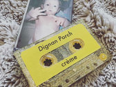 créme - Dignan Porch Glitter Gold Cassette Tape photo