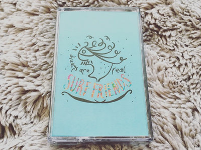 Dreams Are Real - Surf Friends Sparkly Blue Cassette Tape main photo