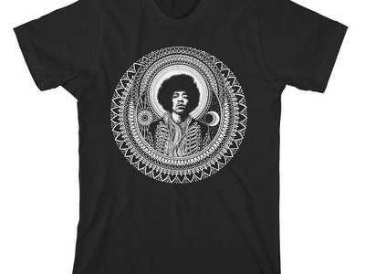 Godfather of Guitar Hendrix T-Shirt by Dale Sarok main photo