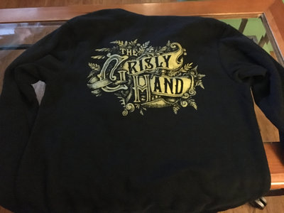 Grisly Hand logo Zip-Front Hoodie main photo