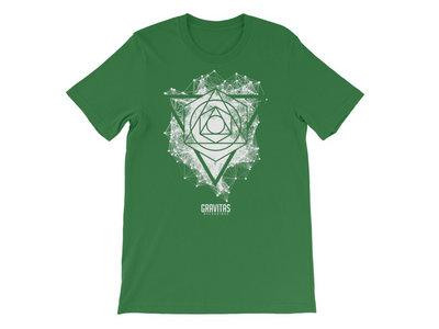Seth Grym – 'Framework' Shirt – White on Green main photo