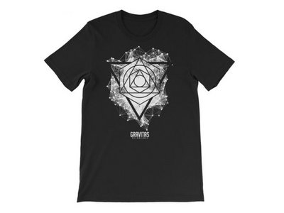 Seth Grym – 'Framework' Shirt – White on Black main photo