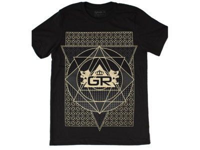Occult Men's Shirt - Gold Ink main photo