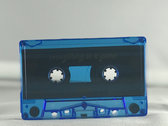 Cassette Release With Afro Cobra Sticker Blue/Yellow photo