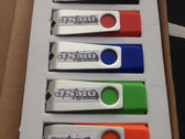 4GB USB Swivel Drives (11 albums included) photo
