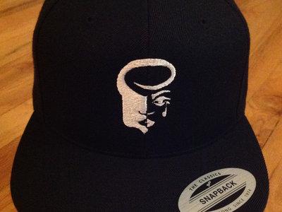 Black SnapBack with White Logo main photo