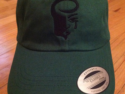 Deep Green Dad Hat with Black Logo main photo